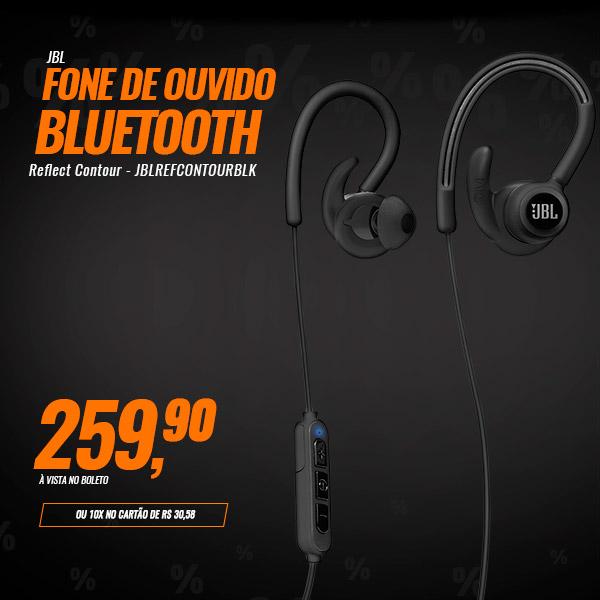 Fone de Ouvido Bluetooth JBL Reflect Contour - JBLREFCONTOURBLK