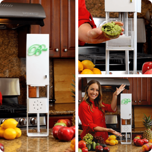 Brut Super Juicer juicing appliance has 1,798 pounds of force