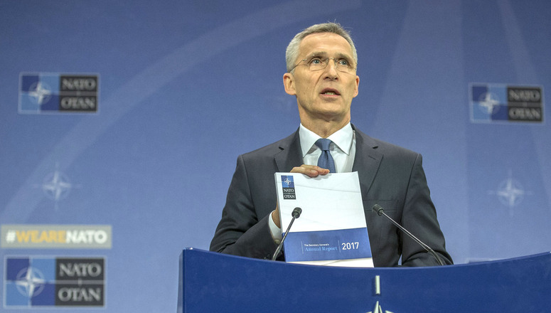 Secretary General's Annual Report: The Alliance is Stepping Up