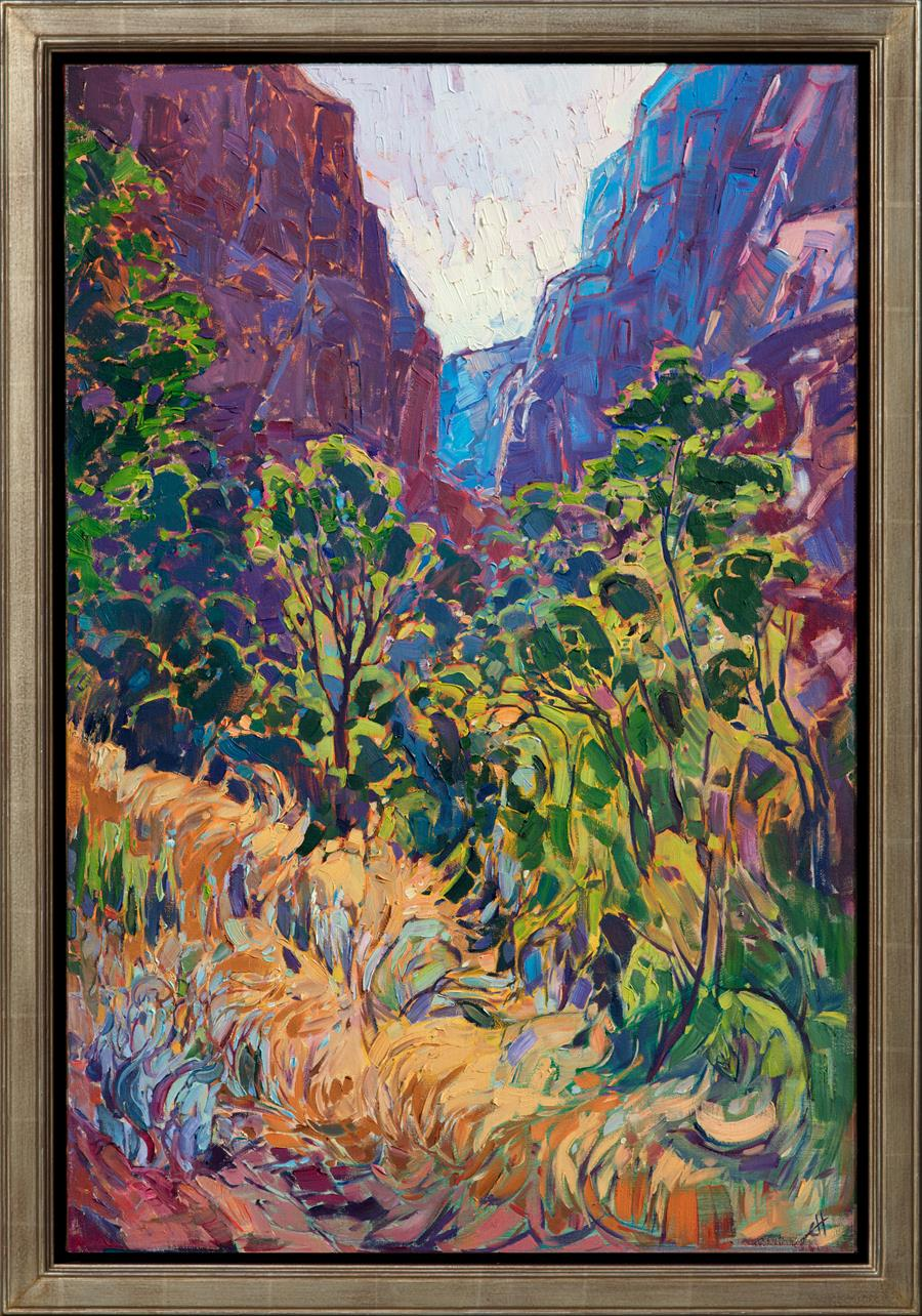 Kolob Light in the frame