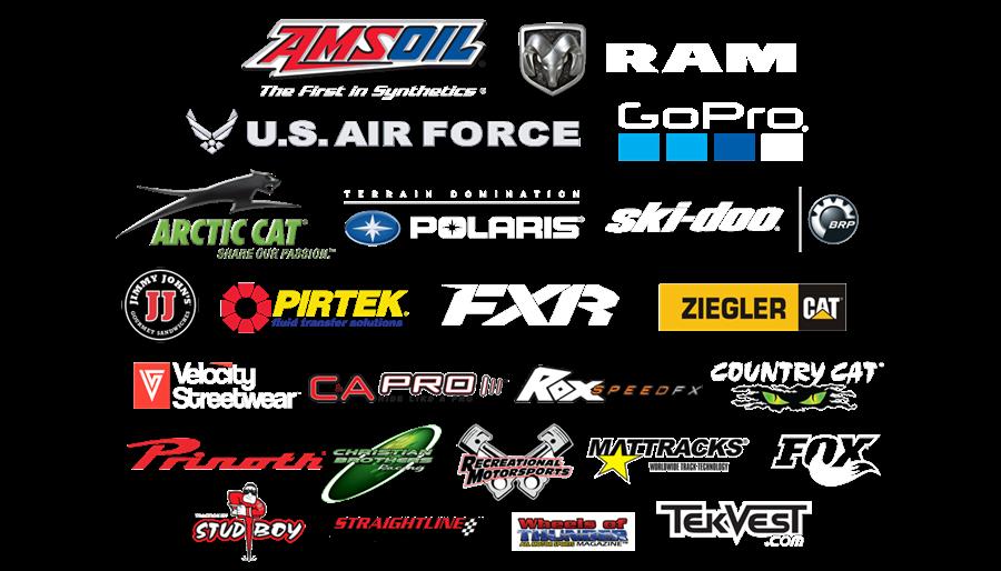 AMSOIL Championship Snocross Sponsors