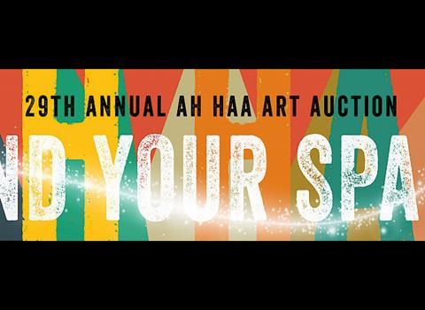 JULY 16-AUGUST 7 | Ah Haa Annual Art Auction