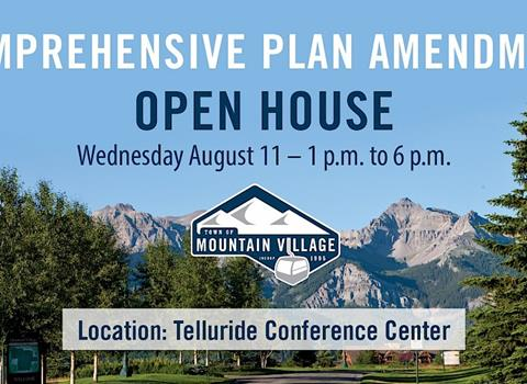 AUGUST 11 |�Comprehensive Plan Open House