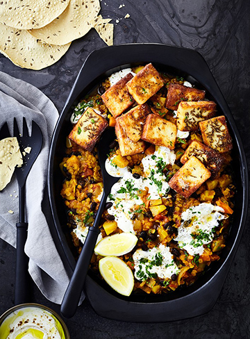 Root Vegetable Paneer