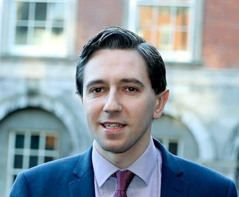 Minister for Health Simon Harris TD
