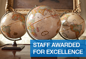 Staff Awarded For Excellence