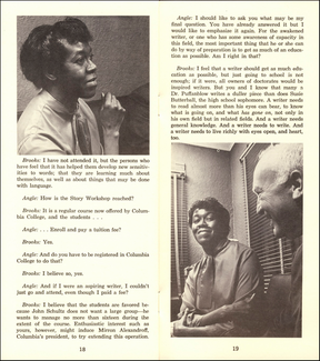 Gwendolyn Brooks Pamphlet