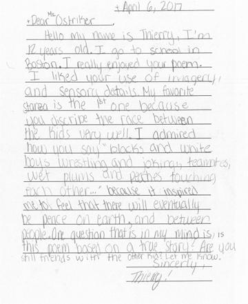 Dear Poet Project