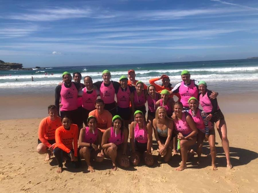 Bondi Thunder squad celebrates their Bronze awards