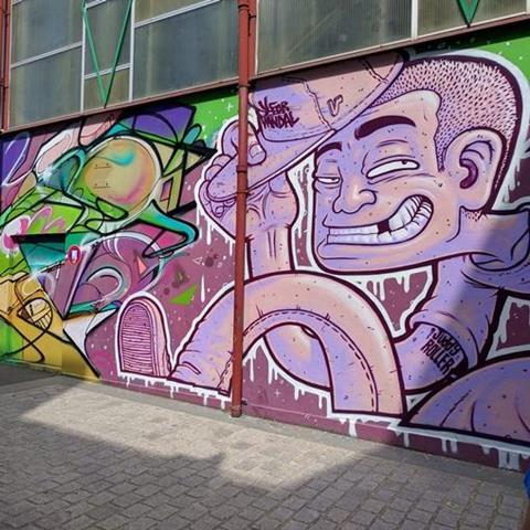 Visite de Vitry capitale du street art  avec un artiste
